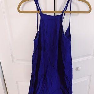 Dresses & Skirts - Flowy Royal Blue Mid-Length Dress